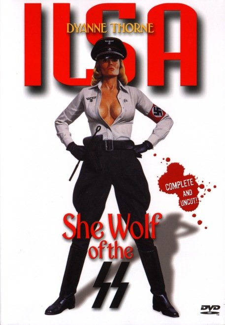 póster de Ilsa, la loba de las SS